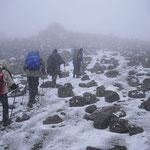 weiter im Schnee
