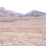 Aussicht in Landmannalaugur