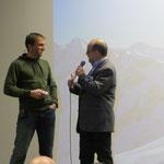 Ueli im Gespräch mit dem Kölner-Sektionsvorsitzenden