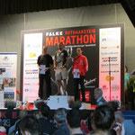 die Schnellsten auf der Halbmarathon-Strecke