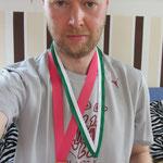 gute Ausbeute: 2 Medaillen an einem Wochenende