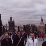 auf der Karlsbrücke