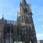 Wenn ich in Köln bin, gehe ich auch in den Dom. Ehrensache!