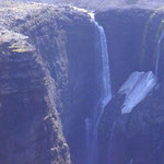 Wasserfall am Gletscher