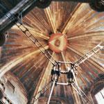 die Decke der Kathedrale