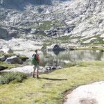 Idylle am Bergsee