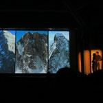 die drei grossen Alpen-Nordwände auf einen Blick