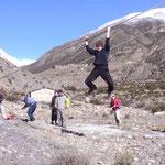 Klettern am Akklimatisierungstag