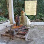 Hindu-Schrein