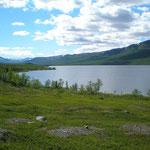 unberührte Natur in Lappland
