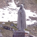 Statue am Pass