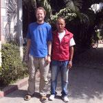 Martin mit Dawa Sherpa