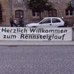 Eisenach macht sich bereit für die Läufer