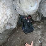 eng ist es in der Höhle