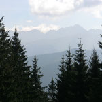 die Berge der Hohen Tatra