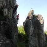 Felsen Petrus - Höhenglücksteig Teil2