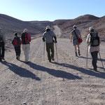 Wanderung im Tal des Todes