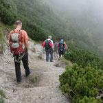 Abstieg nach Kuznice