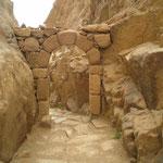 Torbogen bei den Stephanos-Treppen