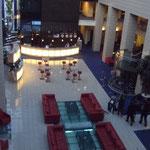 Lobby im Grand Hotel