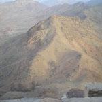 am Gipfel des Mosesberges