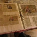 die Zeitung hatte schon einiges zu berichten
