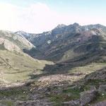 Blick zurück ins Tal