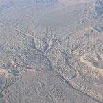 die Wüste aus der Luft