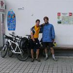 zwei Biker in Habkern