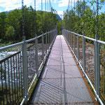 meine erste Hängebrücke - unzählige werden folgen