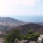 Blick nach Algajola