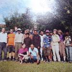 Gruppenbild in Phokara