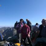 Gruppenbild am Gipfel