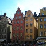 Gamla Stan - an diesem Platz ist auch das Nobel-Museum