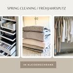 Spring Cleaning / Frühjahrsputz Kleiderschrank