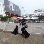 Cannes Filmfestspiele 2012 ...es regenete...trotzdem wir am roten Tepich ;-)