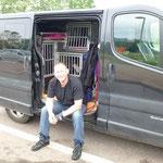 Unser Mr Big mit Hundis und Ender auf dem Weg....