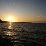 Ein Sonnenuntergang im November