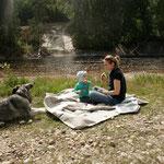 Picknick an der Heddøla