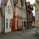 In den Straßen von Egersund