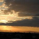 Regelmäßige Sonnenuntergänge mit Weitblick auf die Europa-Park Skyline