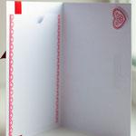 """Открытка """"С Днем Святого Валентина"""" с кармашком внутри. Размер 12х17 см. Цена 200 руб. Продано."""