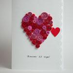 Открытка для любимого со стихами. Размер 19х14 см. 250 руб. Сделано на заказ