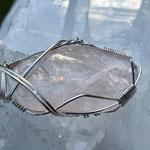 Morganit aus Brasilien auf 925er Silber, 44 x 16 x 6mm, 6gr.     €43