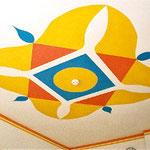 Mandal Decke Krankenzimmer Hallein für basale Stimmulation