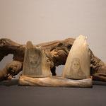 4.014 Thorin Eichenschild&Indianer auf Mammutelfenbein