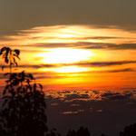 5.047 Sonnenuntergang auf 1200m LaPalma