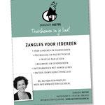 advertentie - Zanghuis hester