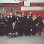 Przekazanie wozu bojowego marki Berliet dla naszej jednostki, 2001