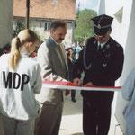 Uroczyste otwarcie remizy, 02.05.1998